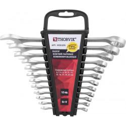 Набор ключей Thorvik 6-22 мм, 12 предметов W3S12PR
