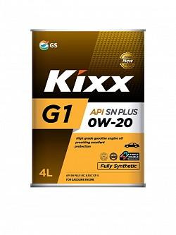 Моторное масло Kixx G1 0W-20 SN Plus (4 л.) L209844TE1