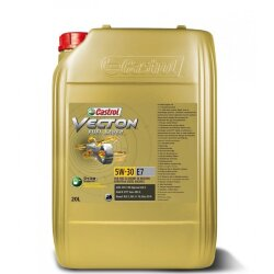 Моторное масло Castrol Vecton Fuel Saver 5W-30 E7 (20 л.) 157AEB
