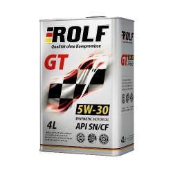 Моторное масло Rolf GT 5W-30 SN/CF (4 л.) 322228