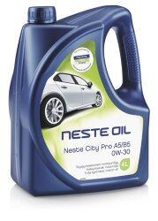 Моторное масло Neste City Pro A5-B5 0W-30 (4 л.) 013745