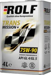 Трансмиссионное масло Rolf Transmission Plus 75W-90 (4 л.) 322283