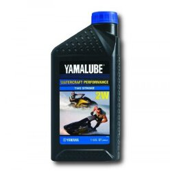 Масло двухтактное Yamaha Yamalube Watercraft Performance Two Stroke 2W (1 л.) LUB-2STRK-W1-12