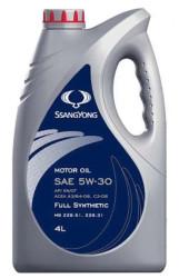 Моторное масло SsangYong Motor Oil 5W-30 (4 л.) LLK05W30004