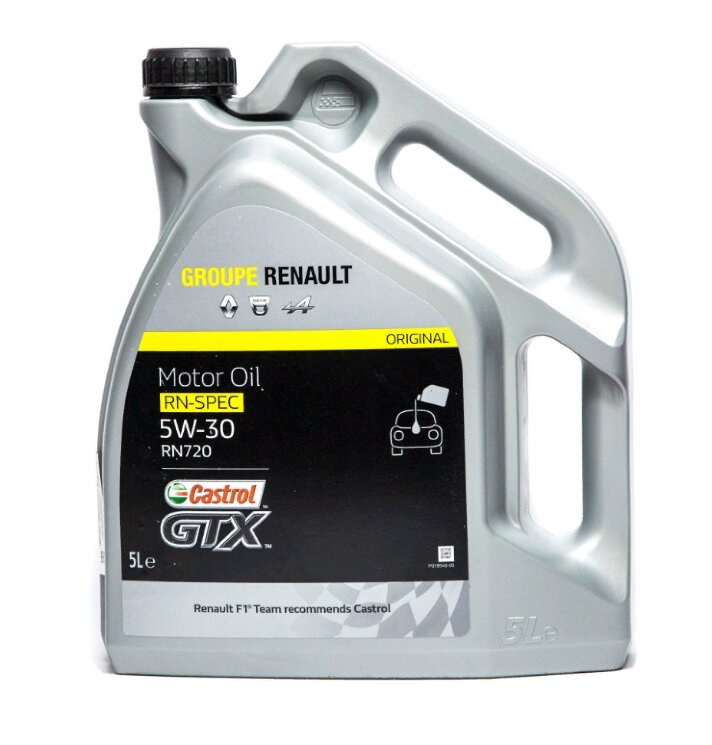 Моторное масло Renault RN-Spec 5W-30 RN720 (5 л.) 7711943687