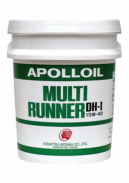 Моторное масло Idemitsu ID Apolloil Multi Runner DH-1 15W-40 (20 л.) 2574-020