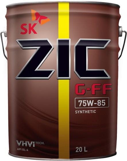 Трансмиссионное масло ZIC G-FF 75W-85 (20 л.) 192626