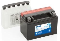 Аккумулятор Exide ETX9-BS 8Ah 120A 150x87x105 п.п. (+-) AGM