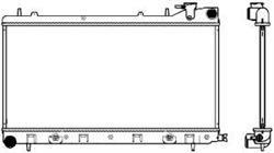 Радиатор Sakura 34211013