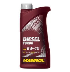 Моторное масло Mannol Diesel Turbo 5W-40 (1 л.) 1010