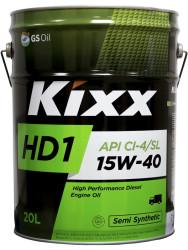 Моторное масло Kixx HD1 15W-40 (20 л.) L2015P20E1