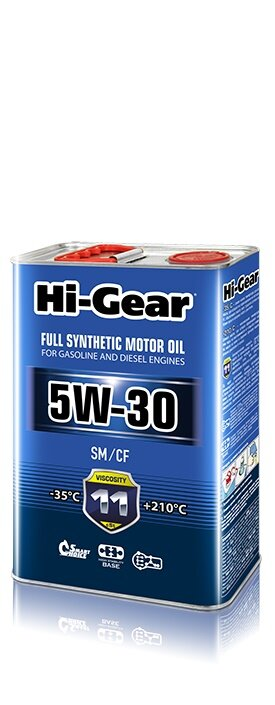 Моторное масло Hi-Gear 5W-30 (4 л.) HG0034
