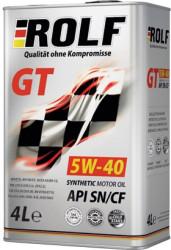 Моторное масло Rolf GT 5W-40 SN/CF (4 л.) 322229