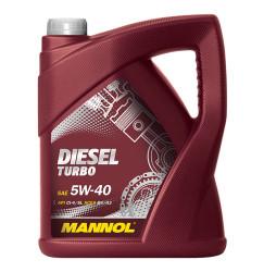 Моторное масло Mannol Diesel Turbo 5W-40 (5 л.) 1011