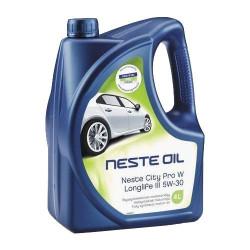 Моторное масло Neste City Pro W Longlife III 5W-30 (4 л.) 013845