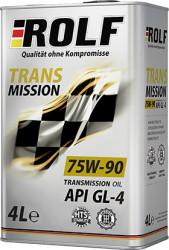 Трансмиссионное масло Rolf Transmission 75W-90 (4 л.) 322309