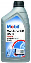 Трансмиссионное масло Mobil Mobilube HD 80W-90 (1 л.) 152661