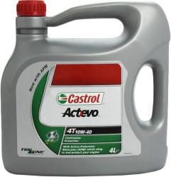 Масло четырехтактное Castrol Act-Evo 4T 10W-40 (4 л.) 151A83