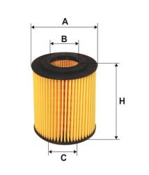 Фильтр масляный Filtron OE6496