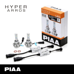 Диоды PIAA Bulb LED Hyper Arros 4000lm 4000K LEH131E