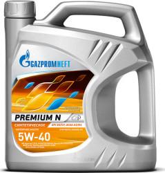 Моторное масло Газпромнефть Premium N 5W-40 (5 л.) 2389907002