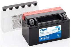Аккумулятор Exide ETX7A-BS 6Ah 90A 150x87x93 п.п. (+-) AGM