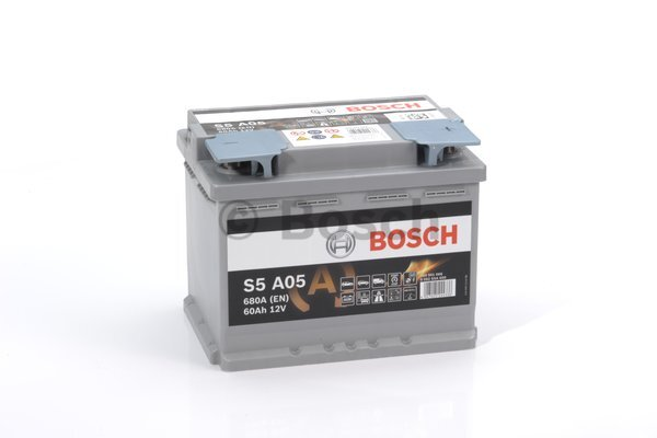 Аккумулятор Bosch S5A 12V 60Ah 680A 242x175x190 о.п. (-+) 0092S5A050