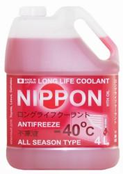 Охлаждающая жидкость Nippon LLC Red -40C (4 л.) 4560457010046