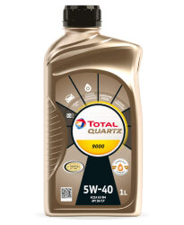 Моторное масло Total Quartz 9000 5W-40 (1 л.) 10940301