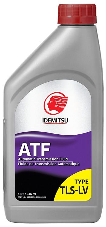 Трансмиссионное масло Idemitsu ATF Type TLS-LV (1 л.) 30040096-750