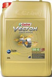 Моторное масло Castrol Vecton Long Drain 10W-40 E7 (20 л.) 157AED