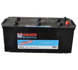 Аккумулятор Hagen (Exide) 190Ah 1000A 513x223x223 п.п. (+-) 69010