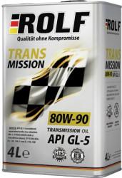 Трансмиссионное масло Rolf Transmission 80W-90 GL-5 (4 л.) 322243