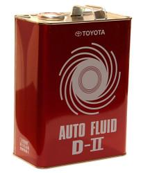 Трансмиссионное масло Toyota Auto Fluid D-II (4 л.) 08886-00305