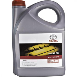 Моторное масло Toyota Engine Oil Semi-Synthetic 10W-40 (5 л.) 08880-80825