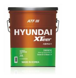 Трансмиссионное масло Hyundai (Kia) Xteer ATF 3 (20 л.) 1120006