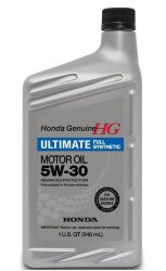 Моторное масло Honda Ultimate Full Synthetic 5W-30 SN (1 л.) 08798-9039
