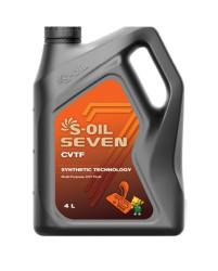 Трансмиссионное масло S-oil SEVEN CVTF (4 л.) E107817