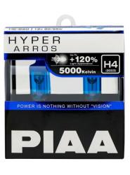 Автолампа PIAA Bulb Hyper Arros H4 5000K HE-920-H4