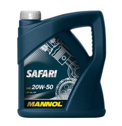 Моторное масло Mannol 7404 Safari 20W-50 (4 л.) 74044