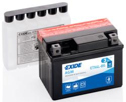 Аккумулятор Exide ETX4L-BS 3Ah 50A 113x70x85 о.п. (-+) AGM