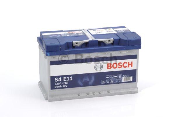 Аккумулятор Bosch S4E 12V 80Ah 730A 0092S4E110