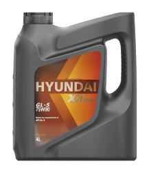 Трансмиссионное масло Hyundai (Kia) Xteer Gear Oil GL-5 75W-90 (4 л.) 1041439