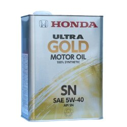 Моторное масло Honda Ultra Gold 5W-40 SN (4 л.) 08220-99974