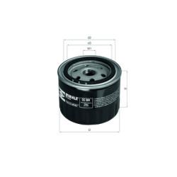 Масляный фильтр Mahle-Knecht OC384A