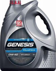 Моторное масло Лукойл Genesis Polartech 0W-40 (5 л.) 1607011