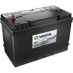 Аккумулятор Varta ProMotive Heavy Duty 105Ah 800A 330x240x172 п.п. (+-) 605103080