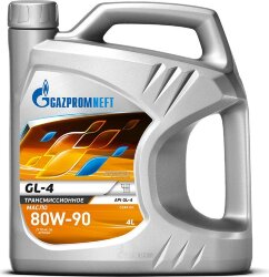 Трансмиссионное масло Газпромнефть GL-4 80W-90 (4 л.) 2389901368