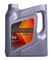 Трансмиссионное масло Hyundai (Kia) Xteer Gear Oil GL-4 75W-90 (4 л.) 1041435