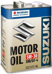 Моторное масло Suzuki Motor Oil 5W-30 (4 л.) 99M00-21R02-004